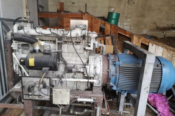 MAN E2866E - BHKW-Stromerzeuger Gas BJ: 2000