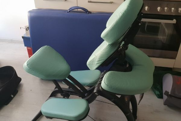 Massageliege und mobiler Massagesessel zu verkaufe