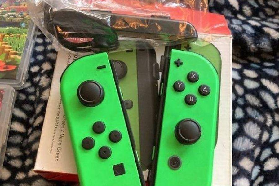 Nintendo Switch Pack mit Zubehör und Spielen - Bild 3