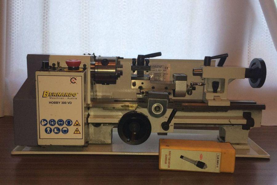 Tischdrehmaschine Hobby 300VD Firma Bernado - Bild 1