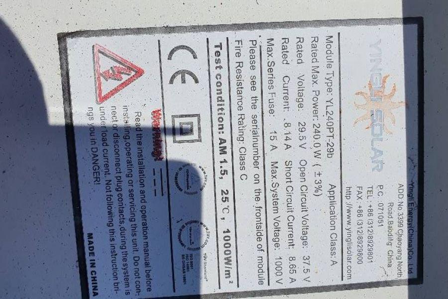 Solarpanele YNGLI Solar 240 W - Bild 3