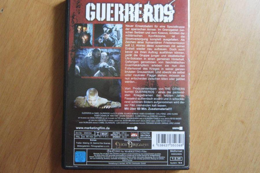 Guerreros - Im Krieg gibt es keine Helden - Dvd - Bild 2