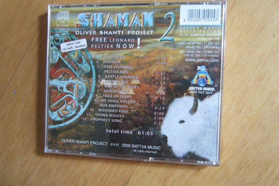 Oliver Shanti Project - Shaman 2 - CD - Bild 2