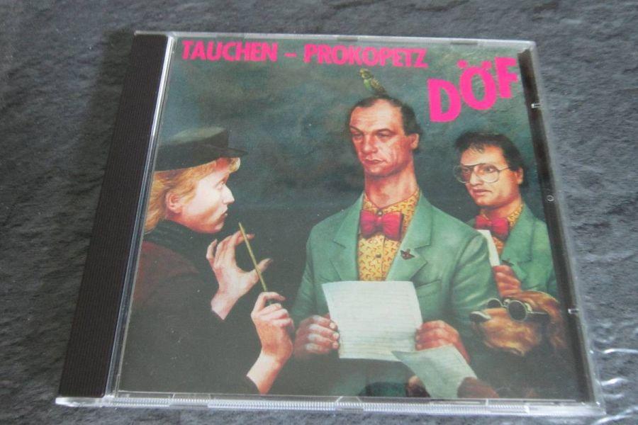 DÖF - Tauchen - Prokopetz - Rarität - CD - Bild 1
