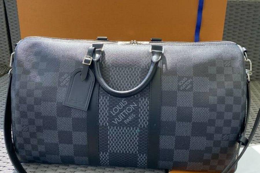 Louis Vuitton Keepall 50 Fullset Rechnung Schulterriemen 2020 Ausverka - Bild 1