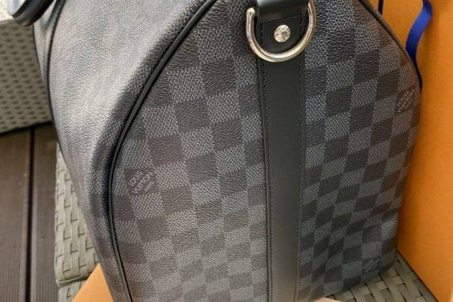 Louis Vuitton Keepall 50 Fullset Rechnung Schulterriemen 2020 Ausverka - Bild 3