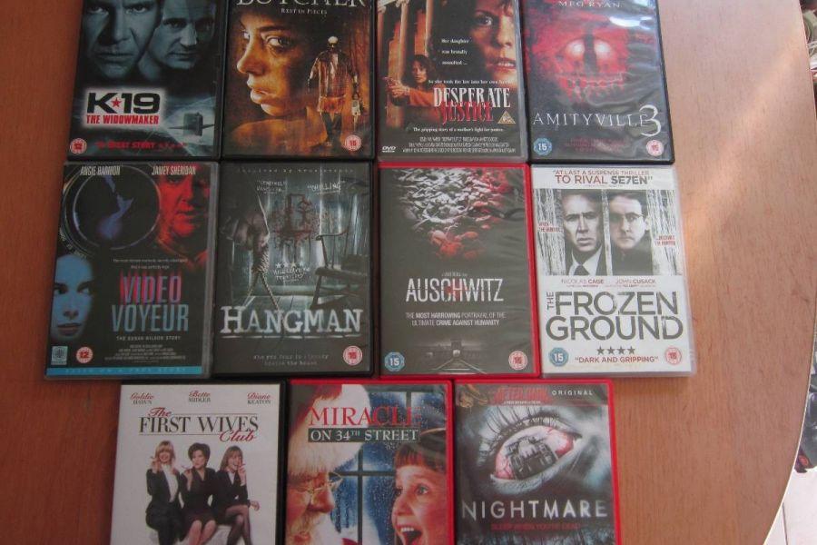 DVD - Sammlungsauflösung - Englischsprachige Filme - Raritäten - Bild 3