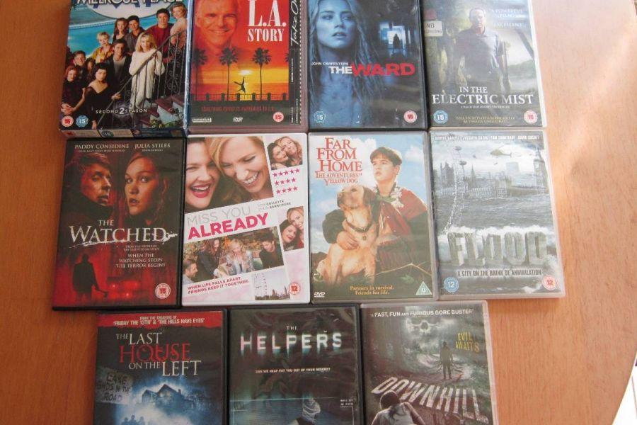 DVD - Sammlungsauflösung - Englischsprachige Filme - Raritäten - Bild 4