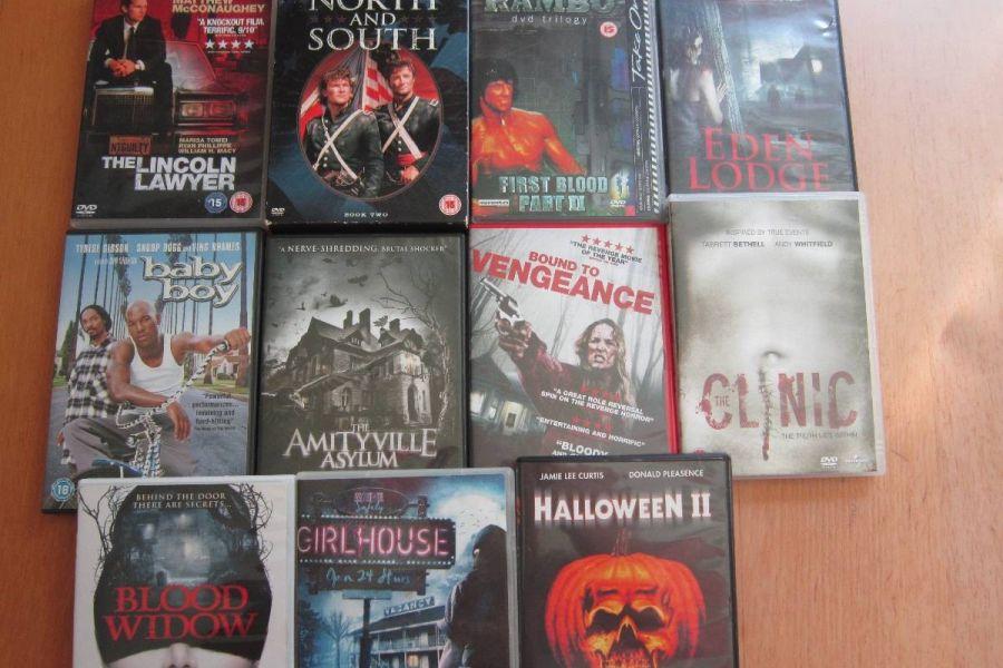 DVD - Sammlungsauflösung - Englischsprachige Filme - Raritäten - Bild 5